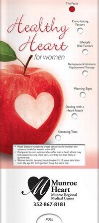 Healthy Heart for Women Pocket Info Slider