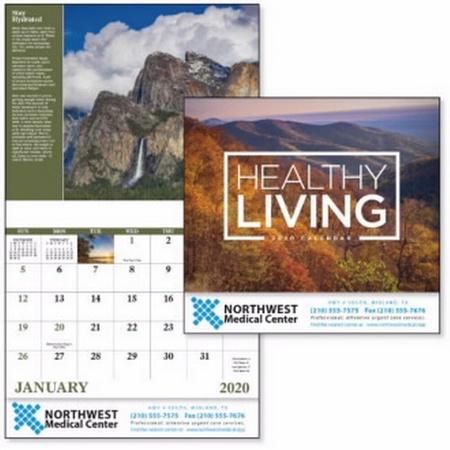Healthy Living Calendar - 2020