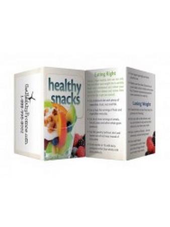 Healthy Snacks Key Points Wallet Card
