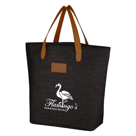 Heathered Color Promotional Tote Bags
