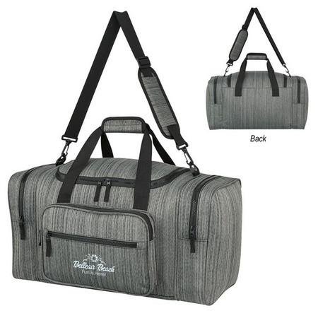 Custom Heathered Duffel Bags