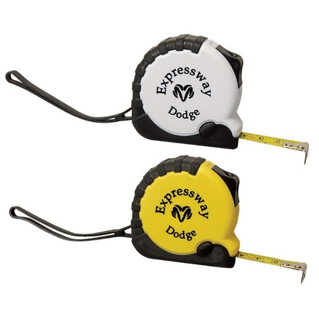 Heavy Duty Tape Measure with Rubber Trim