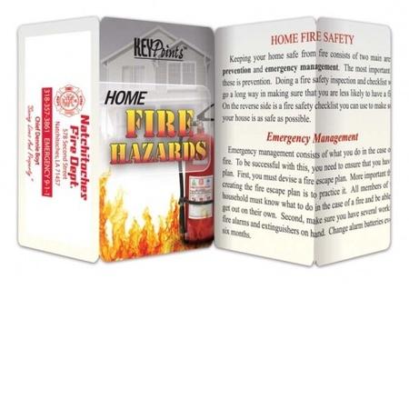 Home Fire Hazards Pocket Guide