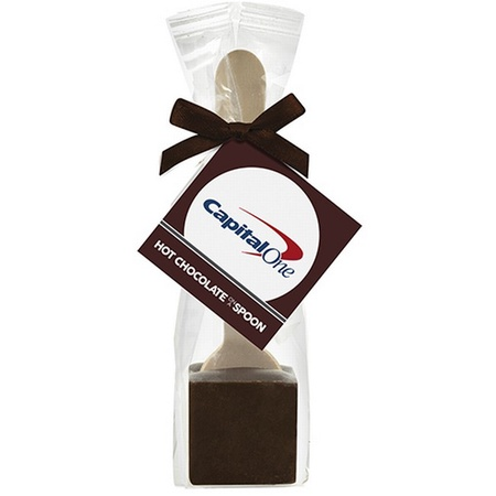 Hot Chocolate on a Spoon Favor Bag