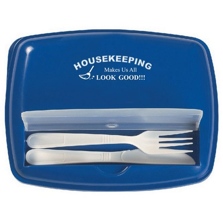 Housekeepers 3 Section Lunch Container