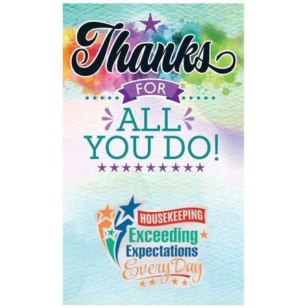 Housekeeping Exceeding Expectations Lapel Pins