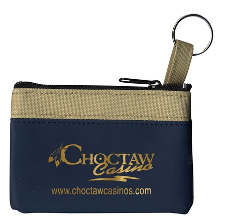Customized Coin & Key Zip Purses