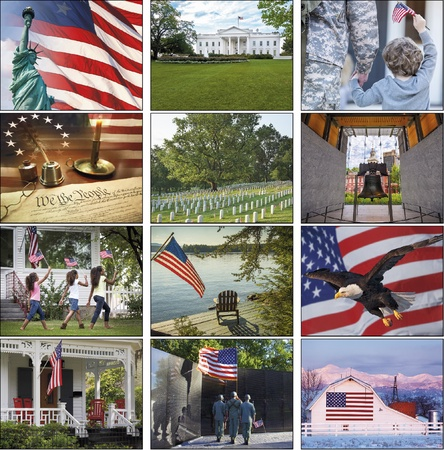 I Love America 2021 Imprinted Calendars