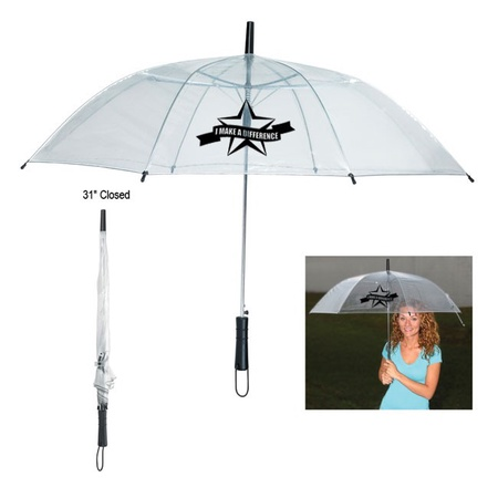 I Make A Difference Clear Umbrella