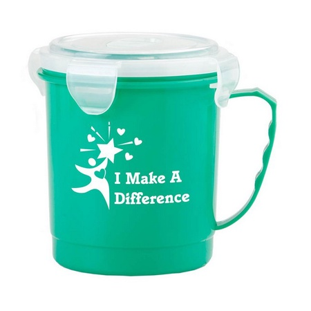 I Make A Difference Food Container Mug