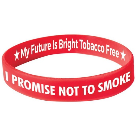 I Promise Not To Smoke Bracelets