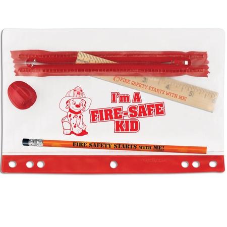 I'm A Fire-Safe Kid Pencil Pouch Set