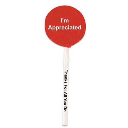 I'm Appreciated Lollipops