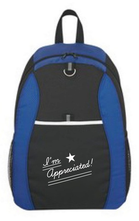 I'm Appreciated Sport Backpack Staff Gift