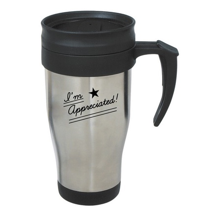 I'm Appreciated Stainless Steel Employee Appreciation Travel Mugs
