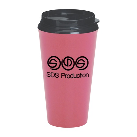 Infinity Custom 16 oz. Tumblers with Plastic Sip Thru Lids
