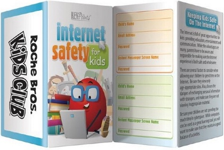 Internet Safety for Kids Pocket Guide & Record Keeper