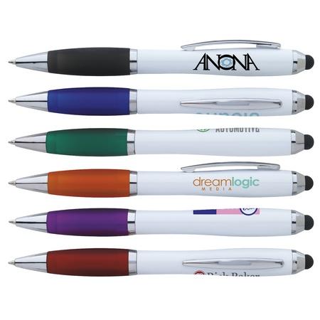 Ion White Custom Stylus Pens