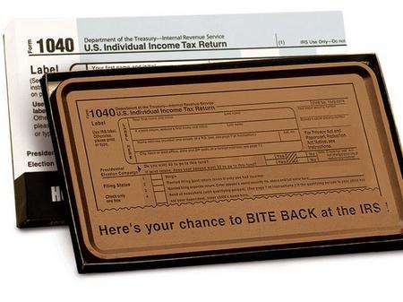 IRS 1040 Large 8 oz. Chocolate Bars