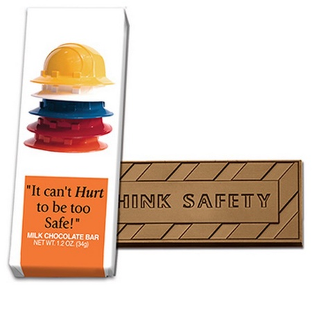 It Can't Hurt To Be Too Safe Chocolate Bars