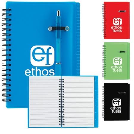"Journal Notebook with Pen Loop - 5"" x 7"""
