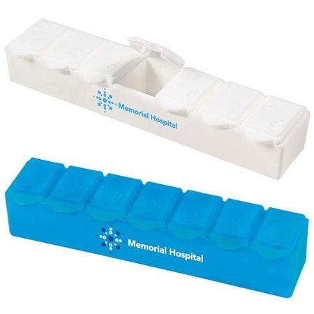 Personalized Jumbo 7-Day Strip Pill Box