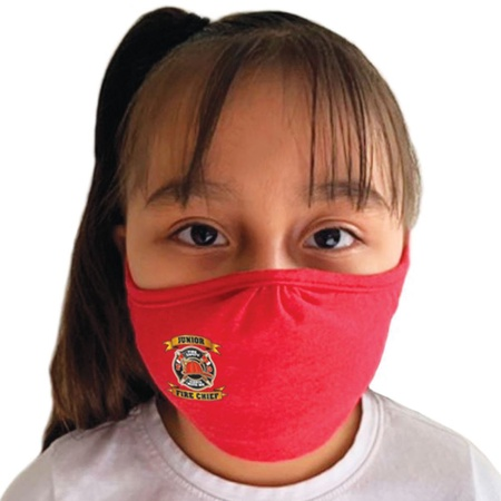 Junior Fire Chief 2-Ply 100% Cotton Mask