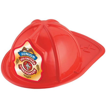 Junior Volunteer Firefighter Red Hat