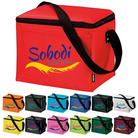 Koozie Six-Pack Kooler with Personalization