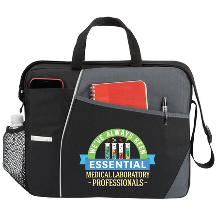 Lab Professionals Commuter Briefcase Bag Gift