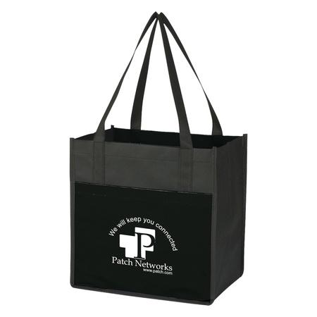 Custom Lami-Combo Shopper Totes