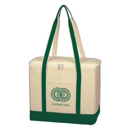 Large Cotton Canvas Custom Cooler Bags