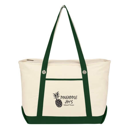 Large Cotton Promotional Canvas Sailing Totes
