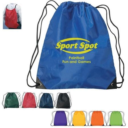 Large Custom Drawstring Sports Backpack