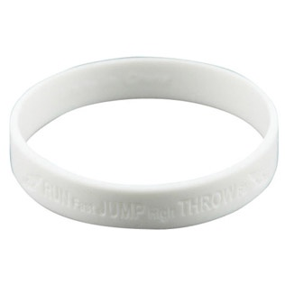 Laser Engraved Wristbands
