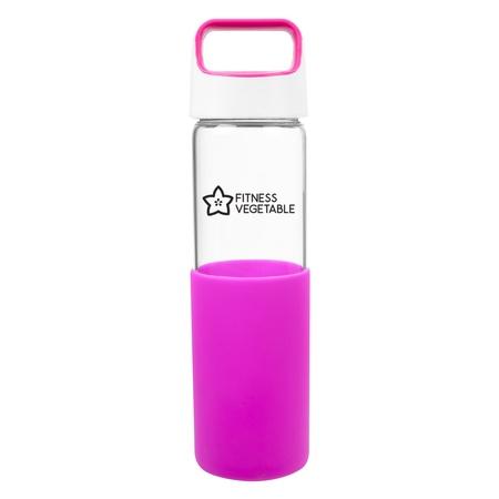 Custom 20 oz. Lela Glass Bottles