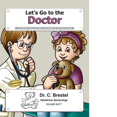Let's Go To The Doctor Coloring & Activity Book