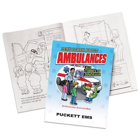 Let's Learn About Ambulances Activities Book