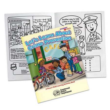 Let's Learn About Crime Prevention Activities Book