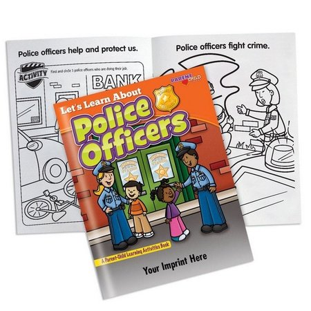 Let's Learn About Police Officers Activities Book