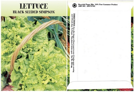Lettuce Seed Packs
