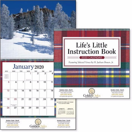 Life's Little Instruction 2021 Imprinted Calendars