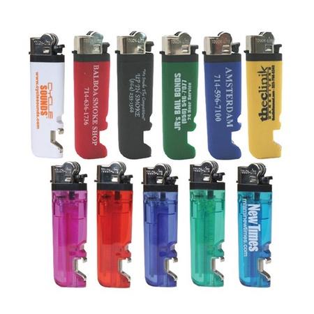 Logo Lighter with Bottle Opener