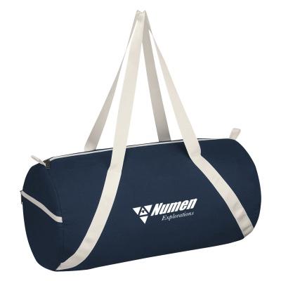 Custom Lightweight Cotton Duffel Bags
