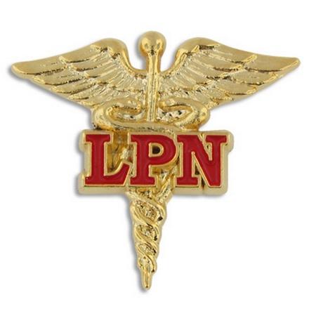 LPN Caduceus Lapel Pin