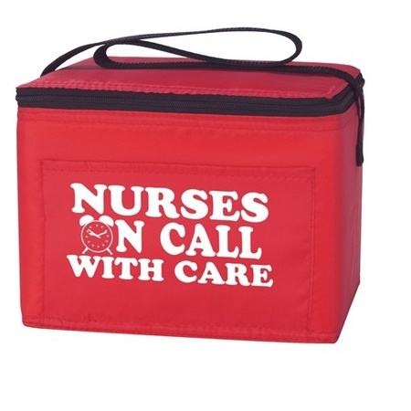 Lunch Bag Nurse Gift with Slogan