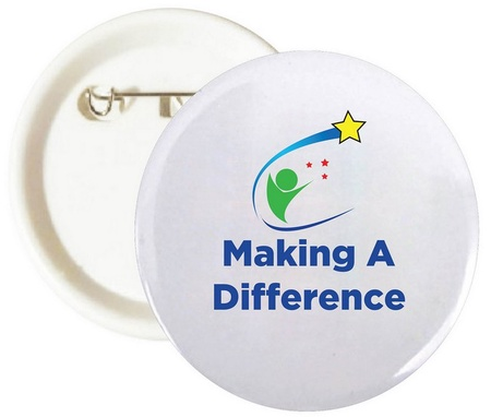 Making A Difference Buttons