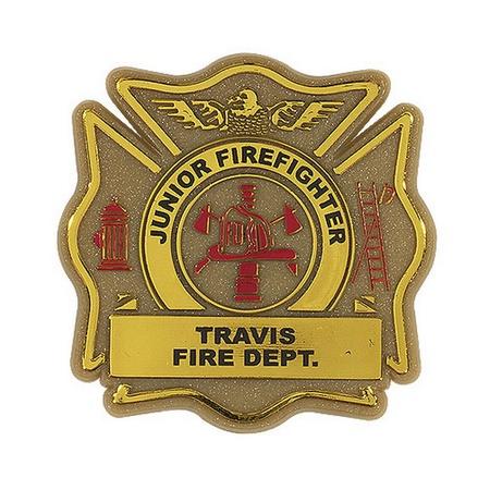 Custom Maltese Fire Safety Cross Badges