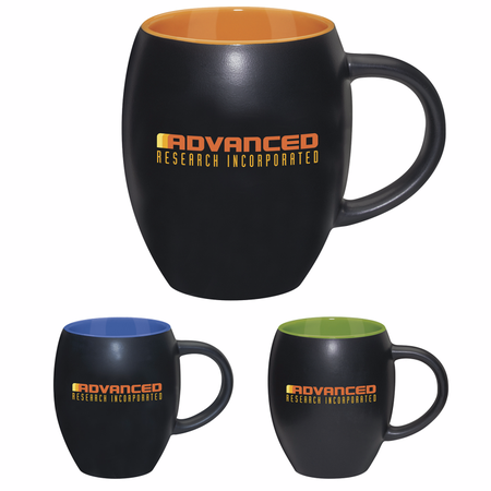 Matte Barrel with Color 17 oz. Mug
