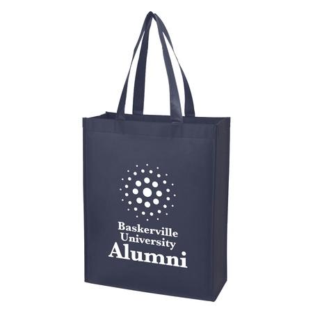 Custom Matte Laminated Non-Woven Shopper Tote Bags